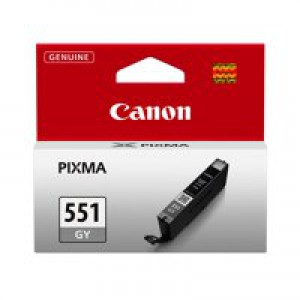 Canon Pixma CLI-551GY Inkjet Cartridge Grey 6512B001