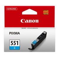 Canon Pixma CLI-551C Inkjet Cartridge Cyan 6509B001