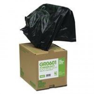 The Green Sack Refuse Bag Clear in Dispenser Box Pack of 75 GR0601