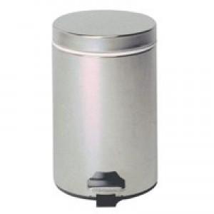CPD Stainless Steel Pedal Bin 12 Litre Silver KCO568W12