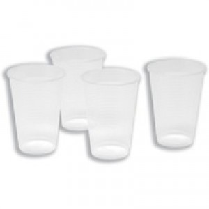 Maxima Water Cup Clear 7oz Pk 100 VMAXCWCT