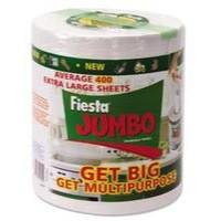Fiesta Jumbo Fiesta Kitchen Roll 400 Sheets