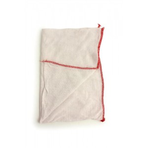 Dish Cloths Stockinette White [Pack 20]