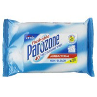 Parozone Toilet Wipes Flush Pack of 8 KJEYSJY02058