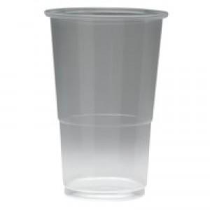 Plastic Half Pint Glass Pk 50 KPLRY0771
