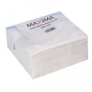 Maxima Napkin 400mm 2-Ply White Pack of 100