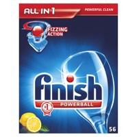 Finish All-in-1 Turbo Lemon Dishwasher Tablet Pack of 52 KRCFAI52L