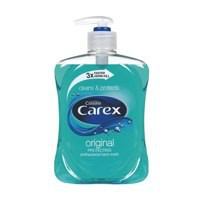 Carex Liquid Soap 500ml Pack of 2