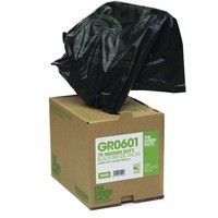 The Green Sack Compactor Sack Black in Dispenser Box Pack of 40 VHPGR0602