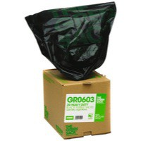 The Green Sack Rubble Sack Black in Dispenser Box Pack of 30 VHPGR0603
