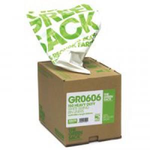 The Green Sack Swing Bin Liner White in Dispenser Pk 150 VHPGR0606