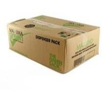 Maxima Green Extra Heavy Duty Refuse Sack Black Pack of 200 VHPMAXHD