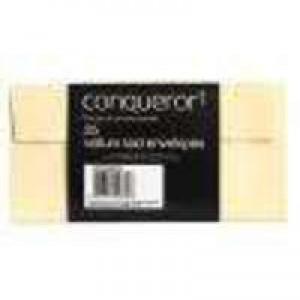 Conqueror Laid DL Envelope Vellum Pk 500