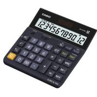 Casio DH-12TER 12-digit Big Display Wide Format Desk Calculator Tax/Currency Function Black