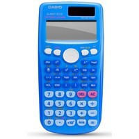 Casio Scientific Calculator Twin-Powered Blue FX-85GTPLUSBU-SB-UH