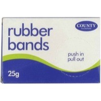 Image for County Rubber Bands No32 25gm C207