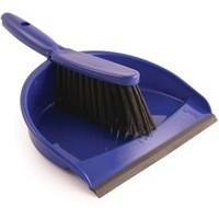 Bentley Dustpan and Brush Set Blue 8011/B