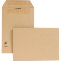 New Guardian Envelopes Heavyweight Pocket Press Seal Manilla C5 [Pack 250]