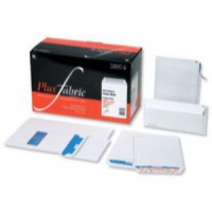 Plus Fabric Envelopes Pocket Press Seal 110gsm C5 White [Pack 500]