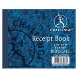 Challenge Duplicate Book Gummed Sheets with Carbon Receipt 2-to-View 105x130mm Code
