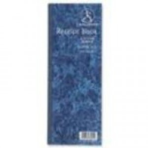 Challenge Receipt Book Gummed Sheets with Carbon 4 to View 200 Receipts 241x92mm Ref 100080450 [Pack 10]