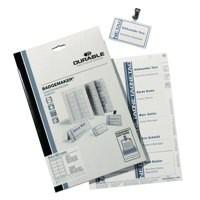Durable Badgemaker 200 Inserts 54x90mm 1455/02