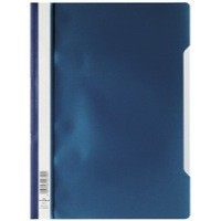 Durable Clearview Folder A4 Dark Blue Pack of 50 2573/07