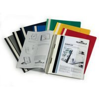 Durable Quotation Folder A4 Assorted Pack of 25 2579/00