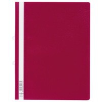 Durable Clearview Folder A4 Red Pack of 25 2580/03