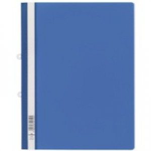 Durable Clearview Folder A4 Blue Pack of 25 2580/06