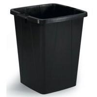 Durable Durabin 90 Litre Recycling Bin Black 1800474221