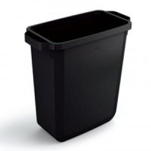 Durable Durabin 60L Bin Recycled Black 1800496221