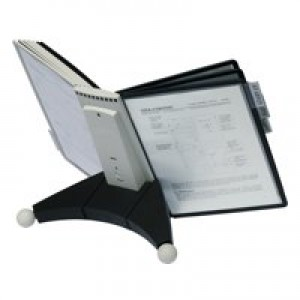 Durable Sherpa Desk Unit 10 Grey and Black 5632-22
