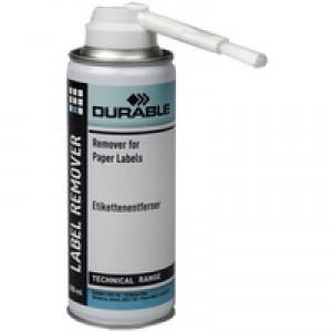 Durable Label Remover Spray Can with Applicator Brush 200ml Ref 5867/00