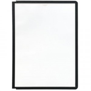 Durable Sherpa Display Panel A4 Black 5606-01