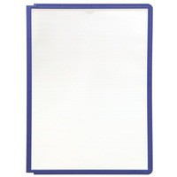 Durable Sherpa Display Panel A4 Violet Blue 5606/44