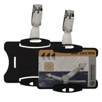 Durable Dual Security Pass Holder Pack of 25 8218/01