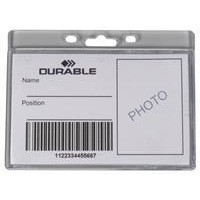 Durable Enclosed Proximity Card Holder Pk 50 999108012