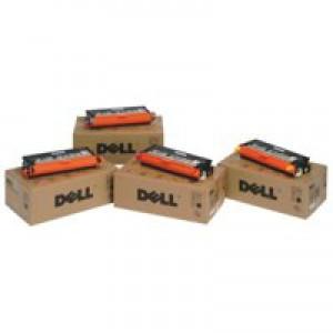Dell 1720/1720DN Use and Return Laser Toner Cartridge Kit High Capacity 6k Black MW558
