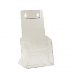 Deflecto Literature Holder 1/3xA4/DL Clear 77501