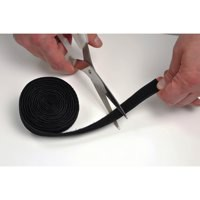 D-Line Cable Tidy Band Reusable Hook Loop 1.2m Black