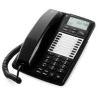 Image for Doro Business Telephone for PBX LCD Display Handsfree Speakerphone 20 Memories Black Ref AUB300
