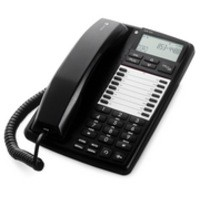 Doro Business Telephone for PBX LCD Display Handsfree Speakerphone 20 Memories Black Ref AUB300