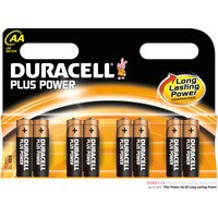 Duracell Plus Battery AA Pk 8 81275377