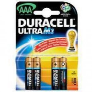 Duracell Ultra Battery Pack of 8 AAA 15071690
