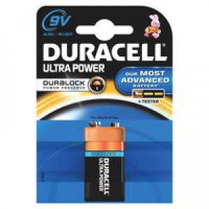 Duracell Ultra Battery Pack of 1 9V 75051968