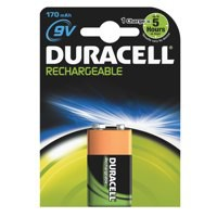 Duracell Rechargeable ACCU NiMH Battery 9V 15038744