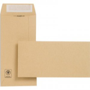 New Guardian DL Envelopes Heavyweight Pocket Peel and Seal Manilla Pack 500 Code E26503