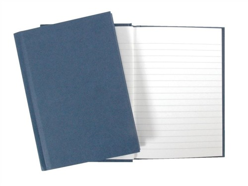 Manuscript Book Casebound 70gsm Ruled 190 Pages A6 [Pack 10]