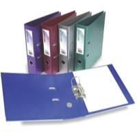 Acco Eastlight Metalix Lever Arch File A4 Purple 21947EAST